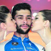 Fernando Gaviria war im Sprint der Schnellste