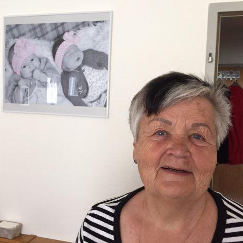 Gretl Dönz ging im Mama-Sein auf. Die Kinder waren und sind ihre Schätze. Foto: VN/kum