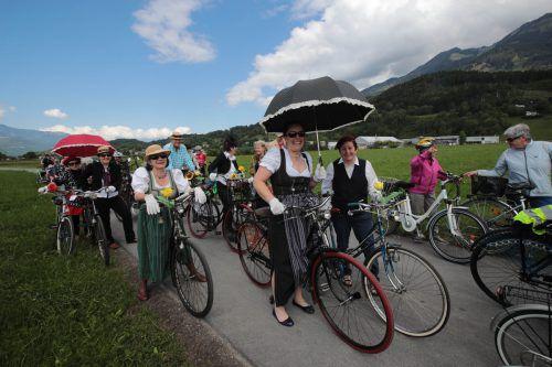 Gute Stimmung herrschte bei der Fahrradsternfahrt. Foto: ame