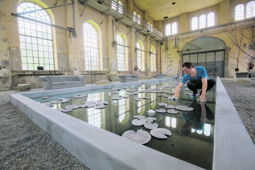 """Hans Op de Beeck im Kunstraum Dornbirn: """"Für mich ist es wichtig, dass auch das Handwerk sichtbar wird.""""  Fotos: VN/Hartinger"""