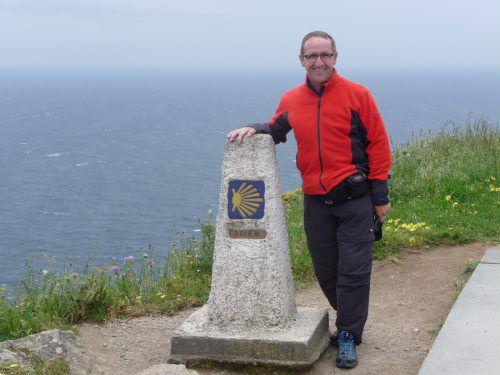 Harald Pfanner legte auf seinem Weg nach Santiago de Compostela in mehreren Etappen über 2300 Kilometer zurück. Foto: Pfanner