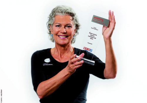 Harmoniestudio Karin Schwarz wurde als Österreichs bester Lehrbetrieb im Bereich Kosmetik ausgezeichnet. Foto: Sillaber