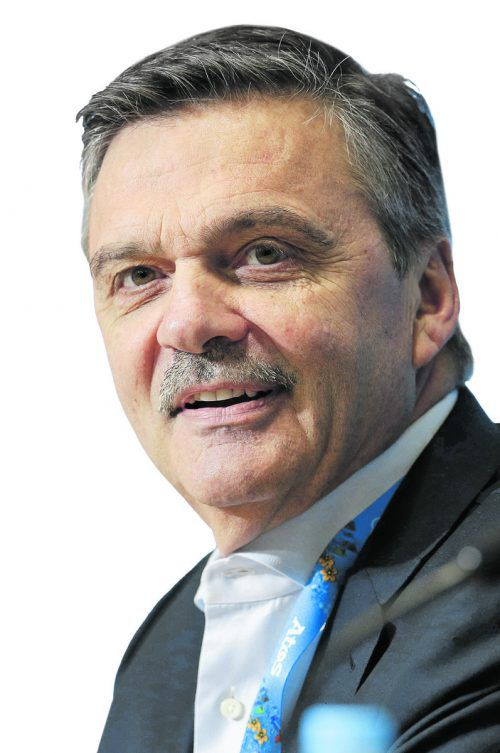 IIHF-Boss Rene Fasel. Foto: ap