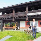 Eine Gemeinde-Immobilie bald in Löwen-Händen