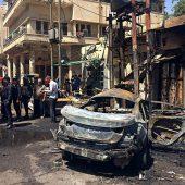 IS bekennt sich zu Anschlägen in Bagdad
