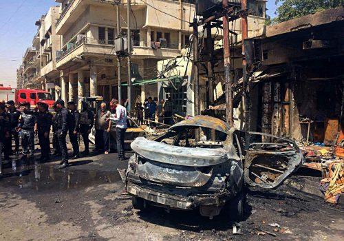 In Bagdad beginnt der Ramadan mit Terroranschlägen.  Foto:ap