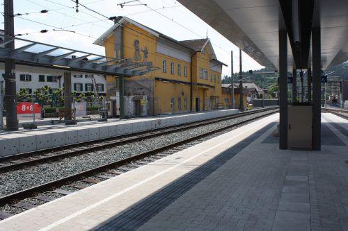 In der kommenden Woche wird das Bahnhofsgebäude in Rankweil abgerissen. Foto: VN/doh