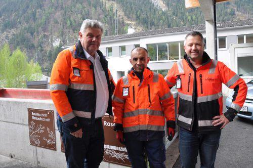 Im Rahmen des Projekts wurde eine Kooperation mit dem Altstoffsammelzentrum lanciert. Stadt