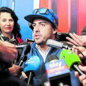 Fernando Alonso in Indy auf eigener Mission