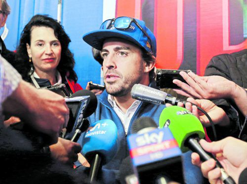 In Indianapolis ist das Interesse an Ex-Formel-1-Weltmeister Fernando Alonso groß.  Foto: ap