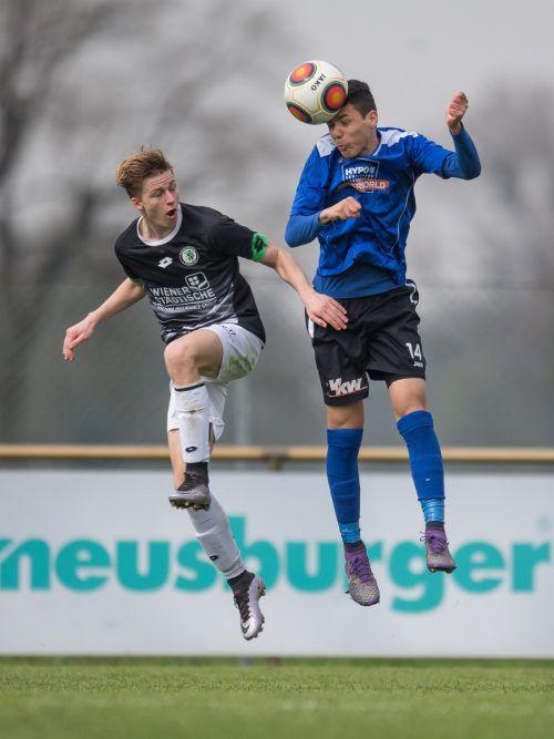 In Linz gab es für Vorarlbergs Junioren nicht viel zu holen. sams