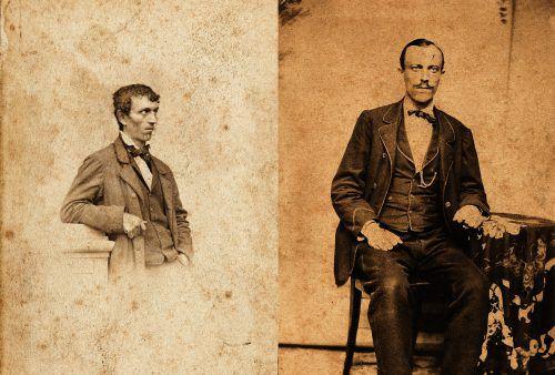 Johann Joseph Felder, Freund und Cousin von Franz Michael Felder.  Foto: F.M.Felder-Archiv