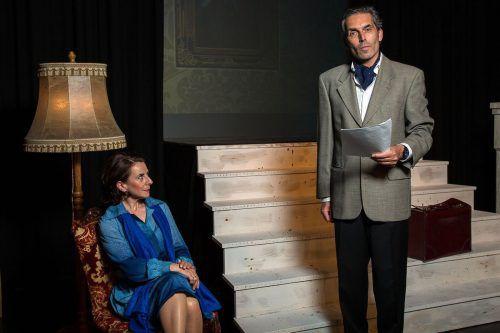 Jürgen Reiner spielt den Schriftsteller Peter Held. Foto: Ehrne