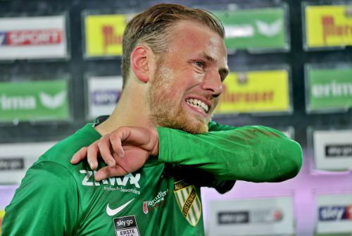 Julian Wießmeier ist eines der grün-weißen Zugpferde. Ob der Deutsche in Lustenau bleibt, ist ungewiss. gepa