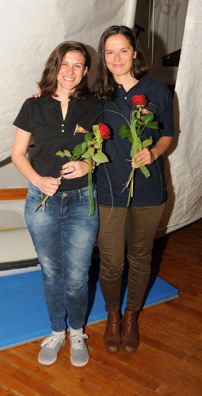 Junioren-Weltmeisterinnen Jacqueline Feuerstein und Denise Grabher.