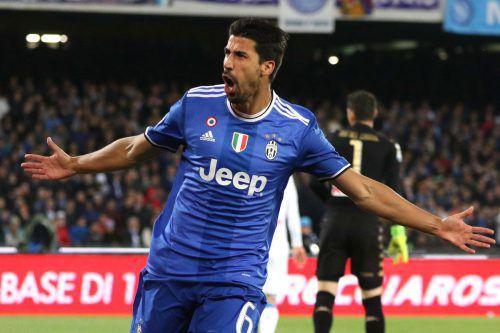 Juventus Turin kann im Endspiel der Königsklasse auf die Stärken von Sami Khedira zurückgreifen. Foto: ap