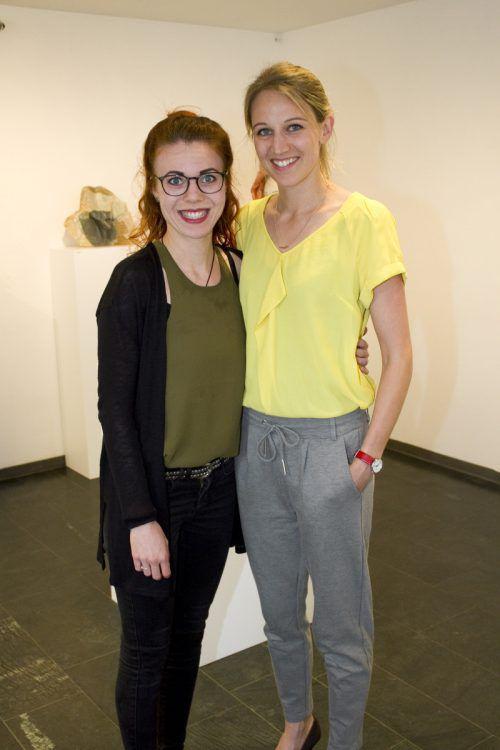 Katja Hotz (l.) und Mona Mittendorfer. Fotos: Franc
