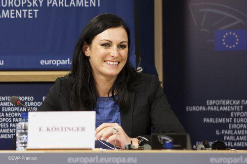 Köstinger soll ÖVP-Generalsekretärin werden. FOTO: EVP