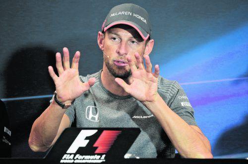 Kurz-Comeback in Monaco: Jenson Button. Foto: ap