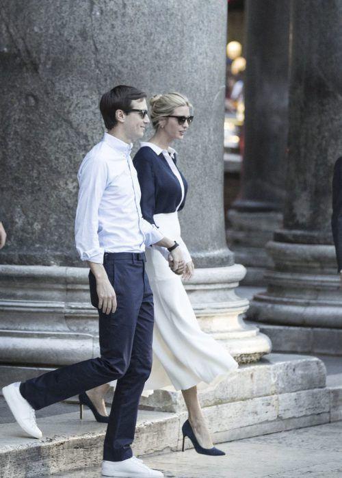 Kushner ist mit Trumps Tochter Ivanka verheiratet. Foto: AFP