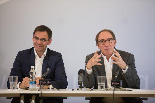 Landesrat Johannes Rauch wünscht sich bei der Bildungsreform die Mithilfe von LH Markus Wallner. Foto: franc