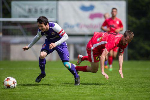 Langen siegte mit 2:0 gegen Viktoria Bregenz (1.LK). steurer