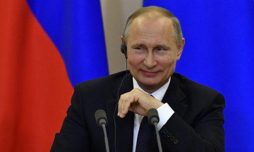 """Laut Putin entwickelt sich """"politische Schizophrenie"""". Foto: AP"""