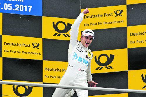 Lucas Auer feierte mit einem Sieg und einem vierten Platz einen sensationellen DTM-Auftakt und ist erster Leader.  Foto: Noger