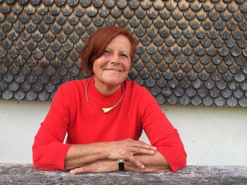 Margret Broger engagiert sich seit über 20 Jahren für Kulturarbeit in Vorarlberg.  Foto: schneider