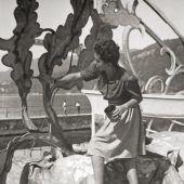 Sie schuf das erste Seebühnenbild