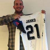Janko spendet Trikot für neue Charity-Auktion