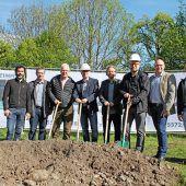 Baustart für Obdorfpark