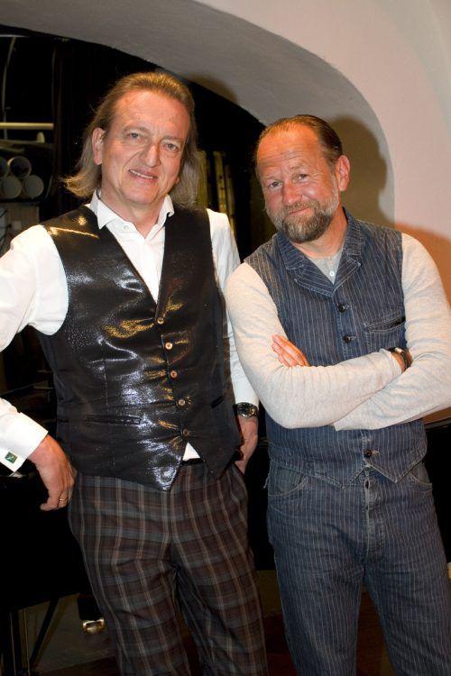 Markus Linder (l.) und Uli Brée. FOTOS.FRANC
