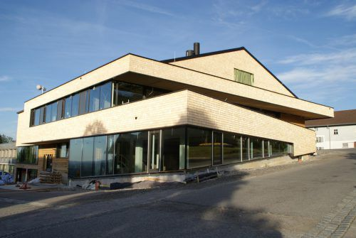 Mehrzweckgebäude in Buch wurde festlich eröffnet. Foto: VN