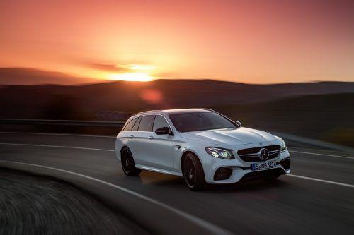 Mercedes bietet den E 63 nun auch als Kombi an
