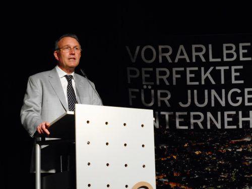 Michael Lüders referierte auf Einladung der Jungen Wirtschaft über seine Thesen zu den Wurzeln der Konflikte im Nahen Osten.  VKO