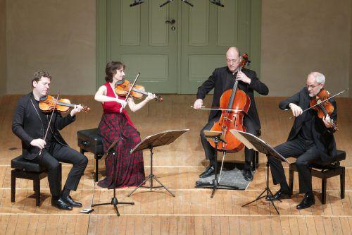 Mit dem Cuarteto Casals wurde die Schubertiade-Saison in Hohenems eröffnet. Foto: Schubertiade