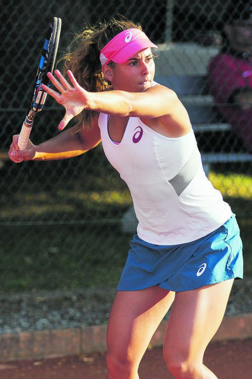Mit fünf Siegen zum Turniererfolg: Julia Grabher.  admin@spire.at