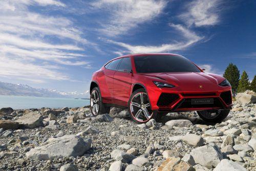 Mitte 2018 soll er auf den Markt kommen. Der Lamborghini Urus wird 650 PS leisten. Foto: Werk