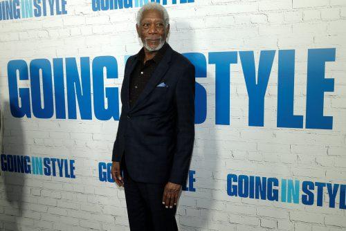 Morgan Freeman hält sich mit Golf und Workouts fit. Foto: Rts