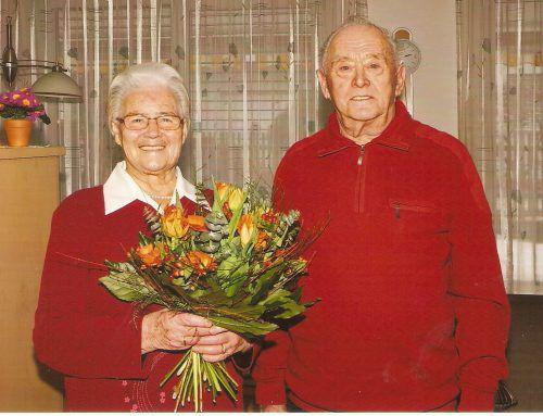Nach 65 Jahren immer noch zufrieden und glücklich.  Foto: kl