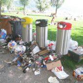 600 Kilo Müll an nur einem Wochenende