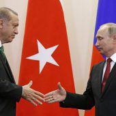 Putin und Erdogan sind wieder beste Freunde