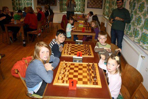 Nachwuchs-Abschluss-Turnier Schachverein in Lochau. Foto: bms
