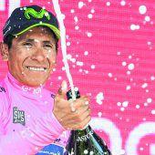 Quintana holte sich bei der letzten Bergankunft Rosa ab