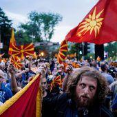Politische Weichenstellung für Zukunft Mazedoniens