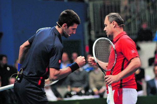 Novak Djokovic beendte die Zusammenarbeit mit Trainer Marian Vajda. Foto: apa