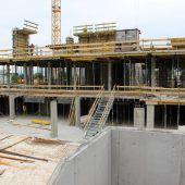 Gemeindehaus in Lochau macht Fortschritte