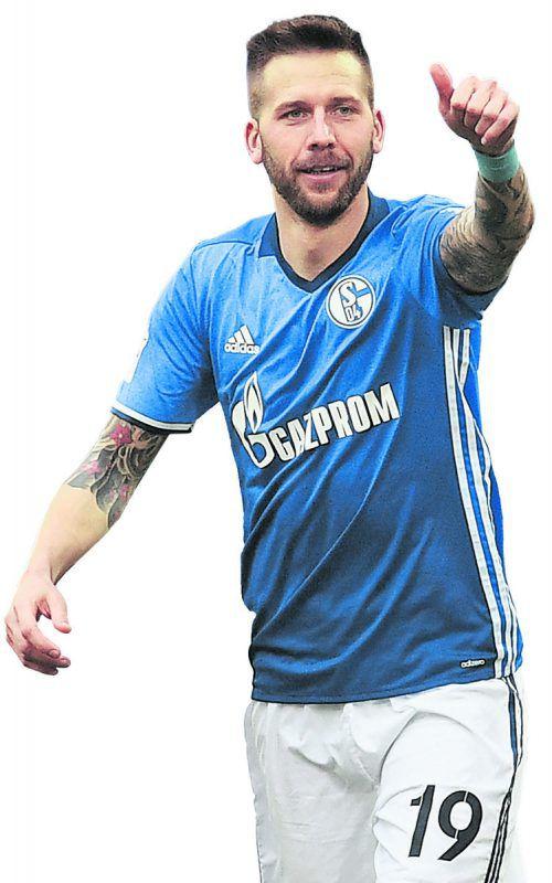 ÖFB-Teamspieler Guido Burgstaller erwies sich als Glücksgriff für Schalke 04.                 Foto: ap
