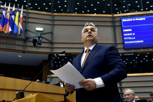 Orban fand deutliche Worte zu den Maßnahmen. Foto: reuters